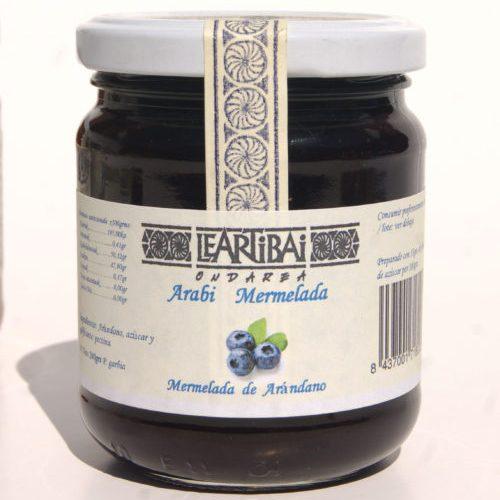 Mermelada De Arándanos, Leartibai, Tarro De Cristal 240g