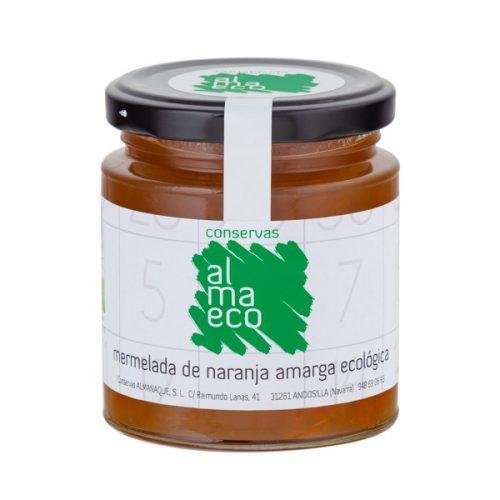 Mermelada De Naranja Amarga ECOLÓGICA, Fr.250ml, Conservas Almanaque, Andosilla