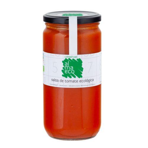 Salsa De Tomate ECOLÓGICA, Fr.720ml, Conservas Almanaque, Andosilla