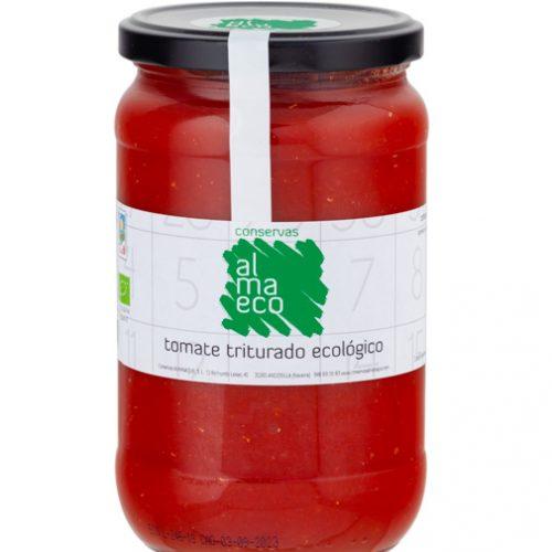 Tomate Triturado ECOLÓGICO, Fr.720ml, Conservas Almanaque, Andosilla