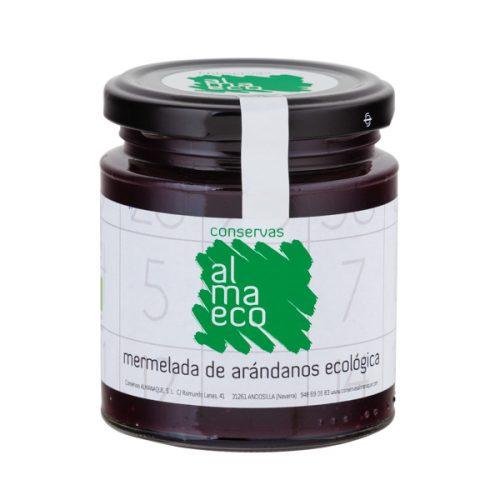 Mermelada De Arándanos ECOLÓGICA, Fr.250ml, Conservas Almanaque, Andosilla