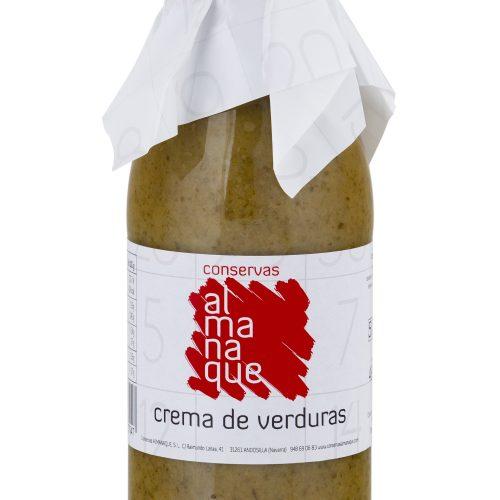 Crema De Verdura, Botella 500ml, Conservas Almanaque, Andosilla