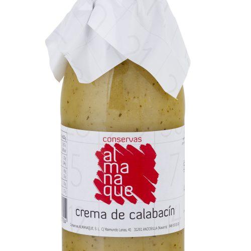 Crema De Calabacín, Botella 500ml, Conservas Almanaque, Andosilla
