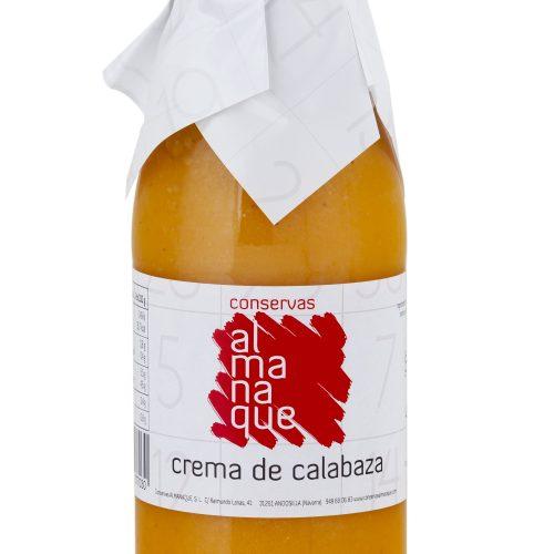 Crema De Calabaza, Botella 500ml, Conservas Almanaque, Andosilla