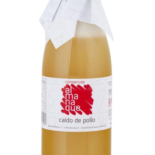 Caldo De Pollo, Botella 785ml, Conservas Almanaque, Andosilla