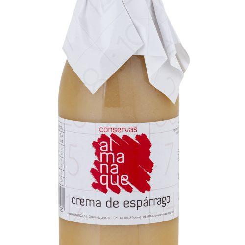 Crema De Espárrago, Botella 500ml, Conservas Almanaque, Andosilla
