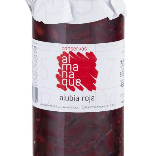 Alubias Roja, Fr.720ml, Conservas Almanaque, Andosilla