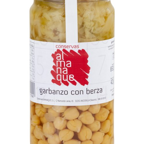 Garbanzo Con Berza, Fr.720ml, Conservas Almanaque, Andosilla