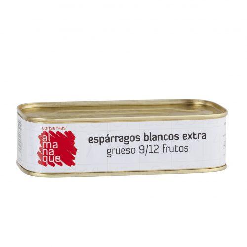 Espárrago Extra 9/12 Frutos, Lata Rectangular 425ml, Conservas Almanaque, Andosilla