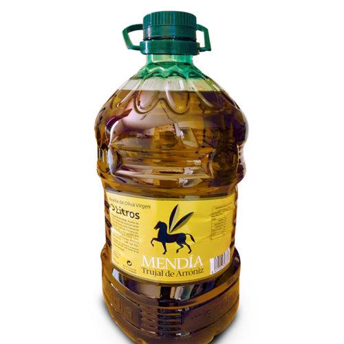 Aceite De Oliva Virgen, Trujal Mendía, Garrafa 3L