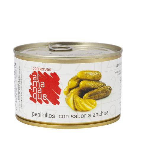 Pepinillo Sabor Anchoa LC 400 ML