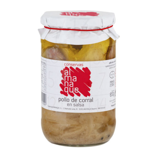 Pollo De Corral En Salsa FR 720 ML