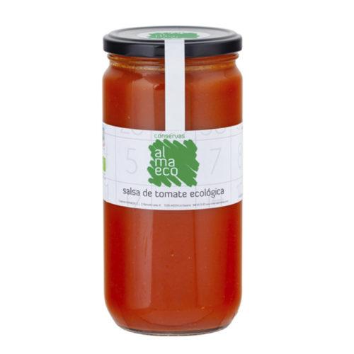 Salsa De Tomate ECOLÓGICA Fr.720 ML, Conservas Almanaque, Andosilla